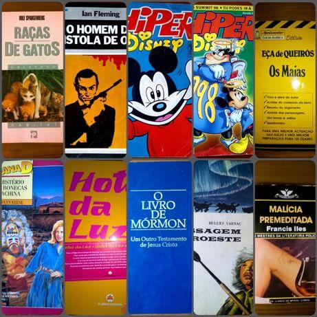 Vários Livros Usados e Novos (listados na descrição)