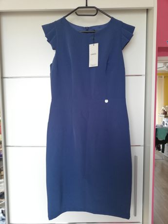 Sukienka niebieska 42