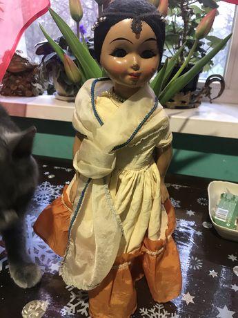 Куколка индианка ссср папье маше