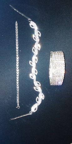 Biżuteria +bransoletka srebrna gratis