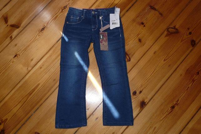 LEE spodnie, jeansy dla dziewczynki, 5 lat
