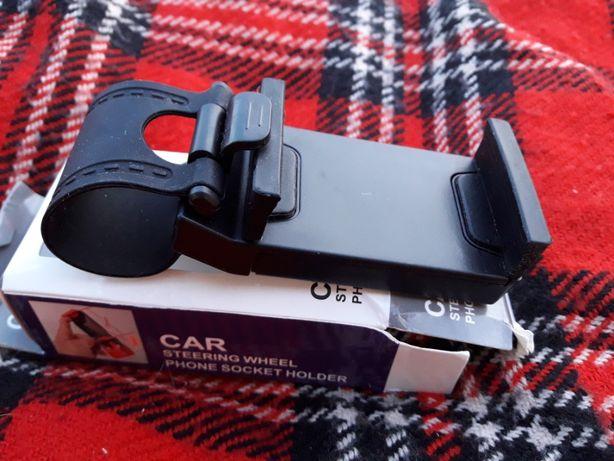 Крепление держатель для телефона смартфона на руль в авто автомобиль