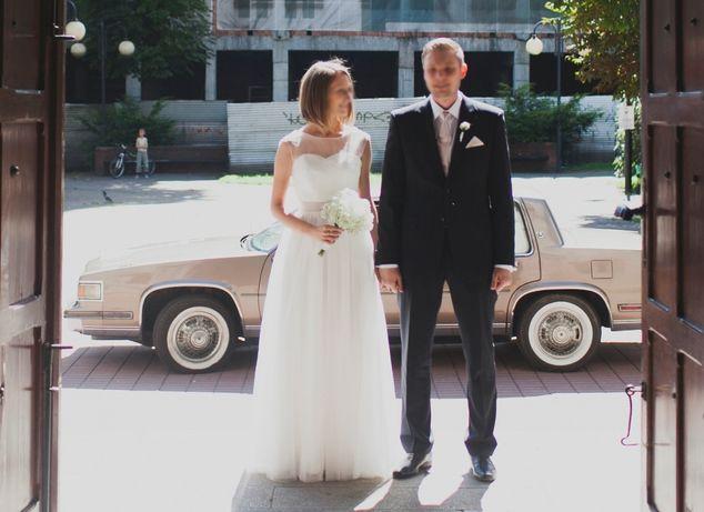 OKAZJA! Suknia ślubna Sylwia Kopczyńska Lilyann rozmiar 38