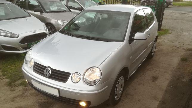 VW POLO 1,4i 2005 r Nowy Rozrząd klimatronic grzane fotele Raty!!