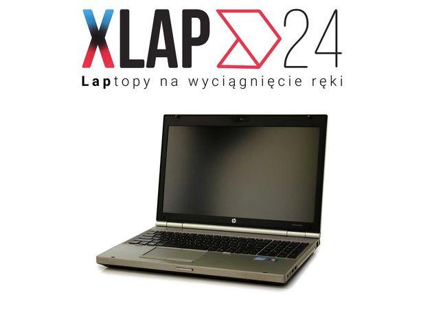 Wytrzymały Laptop HP 8560p 15,6 Intel I5 8GB 240SSD WINDOWS 10 KAMERA