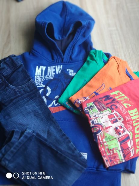 Ubrania dla chłopca rozm 104-110