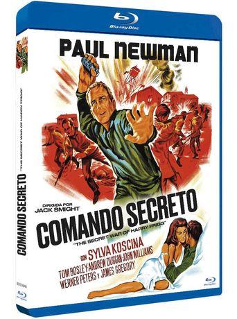 Comando Secreto/A Guerra Secreta de Harry Frigg(Blu-Ray)-Importado