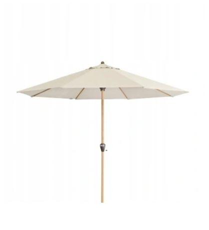 Parasol ogrodowy Alu Wood - Atrakcyjna Cena