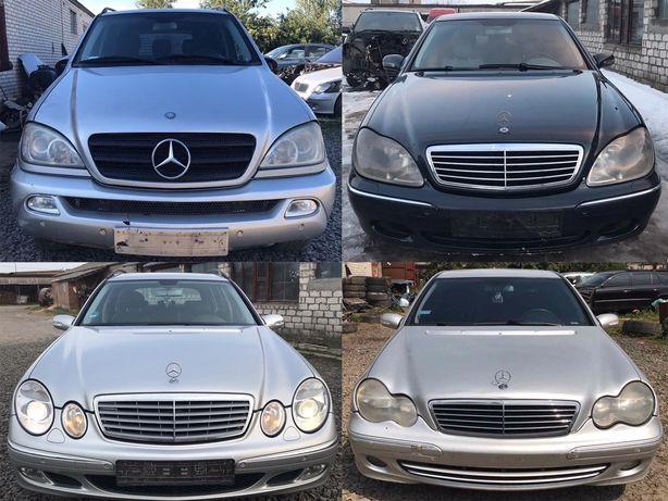 Шрот Разборка Mercedes w211 w212 w163 w212 w164 w220 w203
