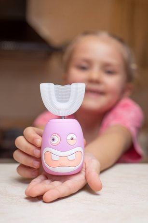 Дитяча зубна щітка-капа