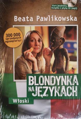 BEATA PAWLIKOWSKA Blondynka na językach. Włoski + CD (mp3)