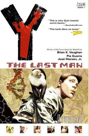 Livro - Y: The Last Man 1