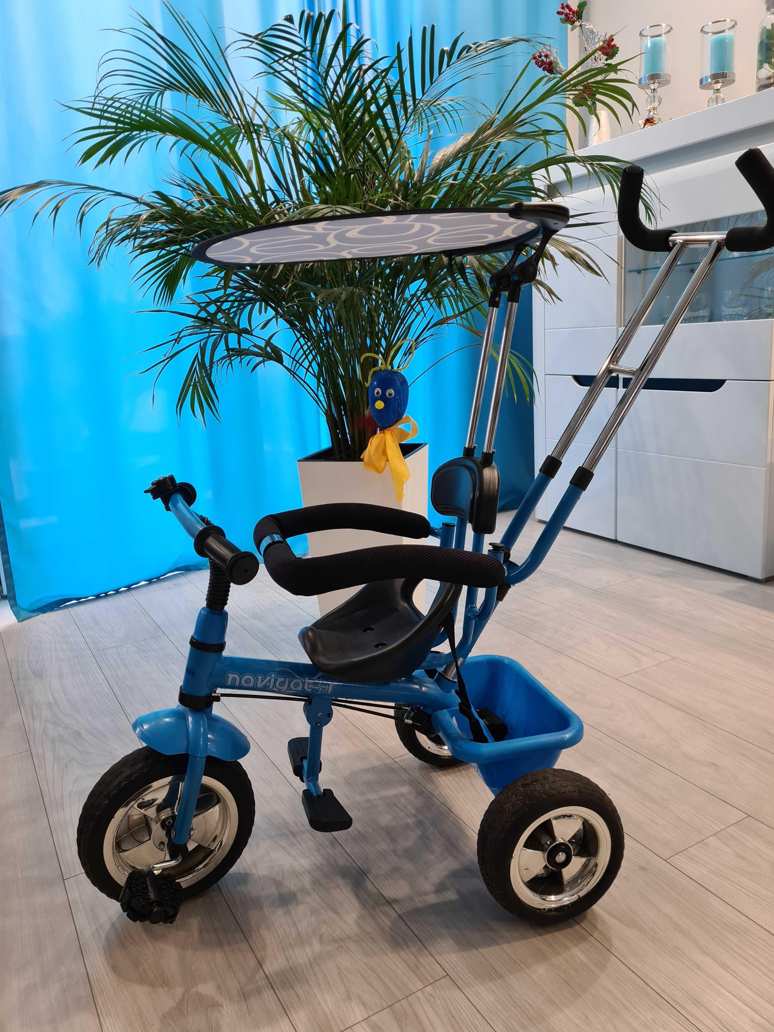 rower rowerek Baby mix trzykołowy trójkołowy jak NOWY