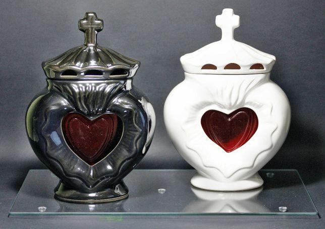 znicz na wład ceramiczny serce nowość !!