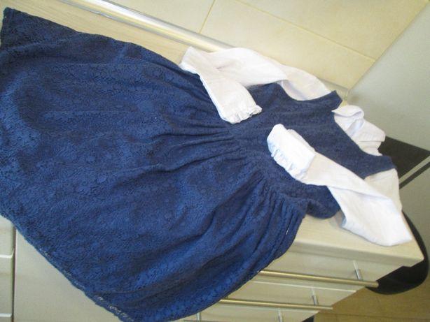 Sukienka RESERVED 164.i bluzka