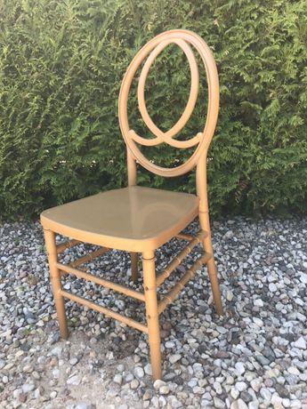Krzesło złote 1