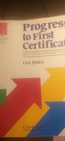 Leo Jones - Progress to First Certificate