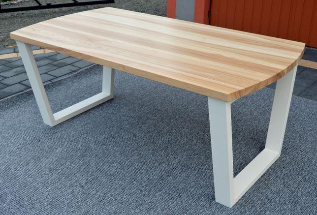 Stół drewniany MIKI w stylu loft-Stół MIKI Jesion industrialny.