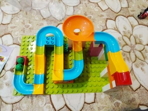 Лучший трек - Конструктор трек совместимый с Лего - Мраморная гонка