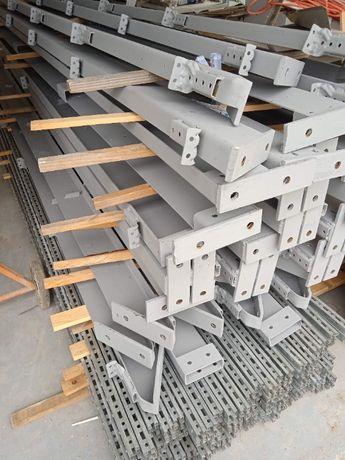 Konstrukcja stalowa, hala, magazyn 7x25x4m