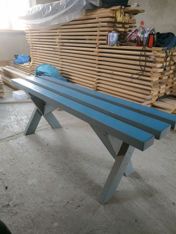 Лавки дерев'яні  розміром 1300 340 470