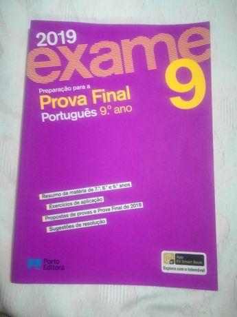 preparaçao de exame de matematica e portugues 9 ano