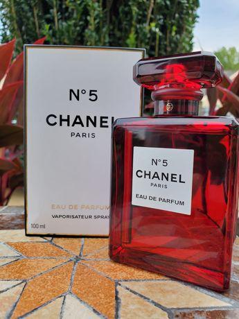 Chanel 5 парфюм красный флакон