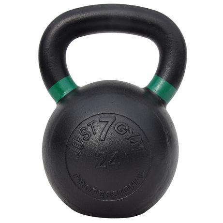 Kettlebell Żeliwny 24kg Just7Gym Giria Obciążniki Treningowe Kettle