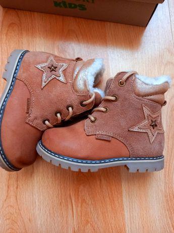 ботинки черевики ласоцкі шкіра кожа lasocki