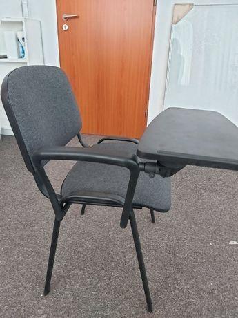 Krzesło biurowe ze składanym blatem - nowe.