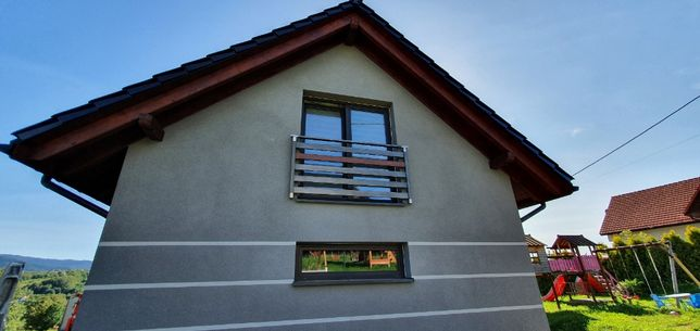 Balkon francuski portfenetr rzygownik CLASSIC montaż aluminium wysyłka