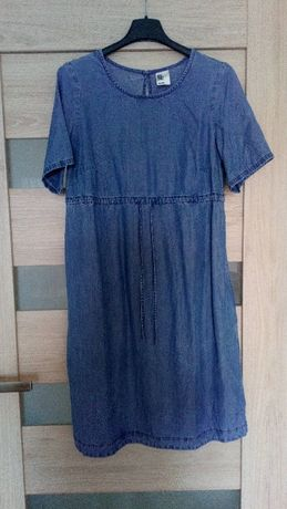 Sukienka ciążowa dżinsowa roz. XS, S