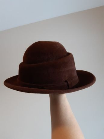 Шляпа охотничья фетр винтаж СССР