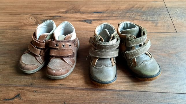 Buty dziecięce, skórzane 20