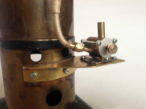 Brinquedo técnico-Turbina e caldeira a vapor