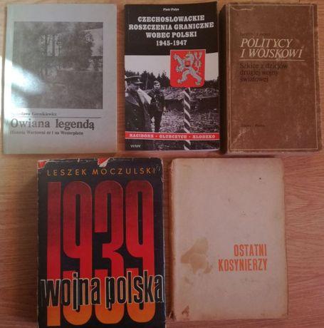 Pakiet 5 książek historyczn. - II Wojna Światowa, Roszczenia Graniczne