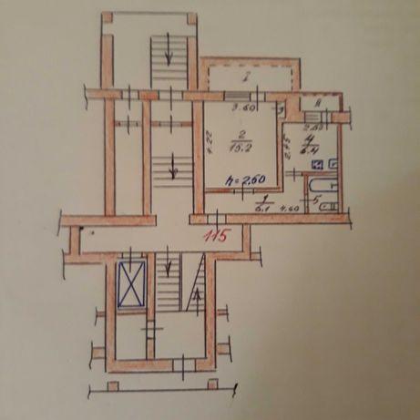 Продам 1    комнатную квартиру в г. Вольногорске