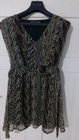 Sukienka luźna midi M 38