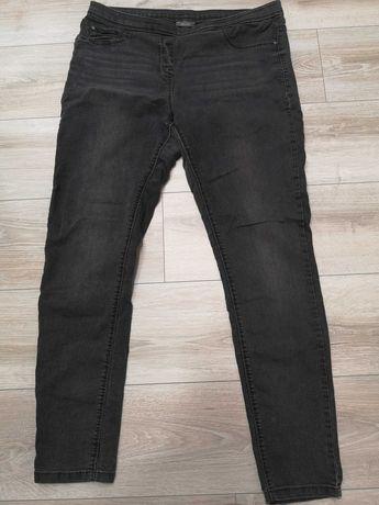 Szare jeansy na gumce C&A rozmiar 46