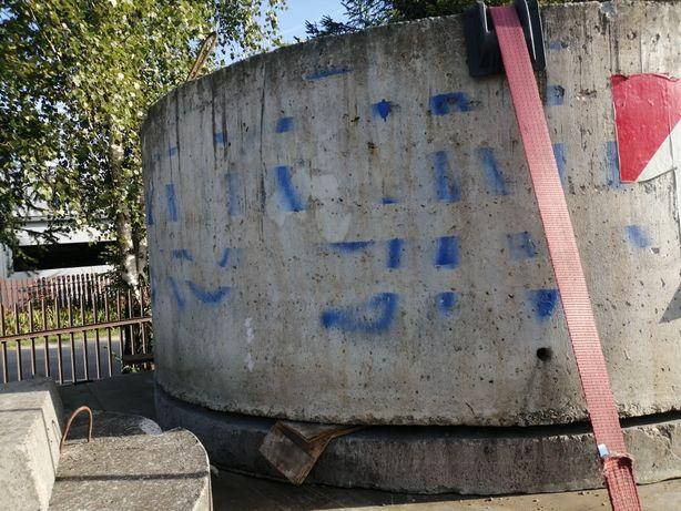 Zbiornik Betonowy okrągły kompletny.Studnia,Szambo 1,4 m3