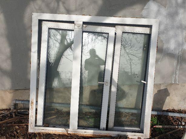 Okno PCV 147x144cm biały