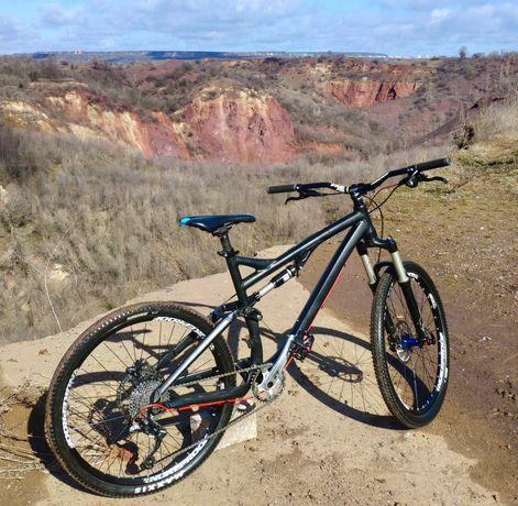 Велосипед Bergamont Threesome 6.3, двухподвес, Downhill, Freeride, Fox