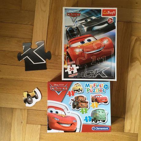 Auta Cars Disney puzzle zygzak zlomek