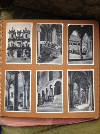 12Postais antigos Alcobaça mosteiro