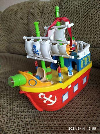 """Продам  интерактивную,   музыкальную детскую игрушку """"Кораблик"""""""