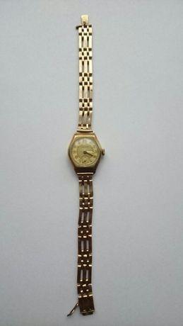 Zegarek złoty,stary, damski movado
