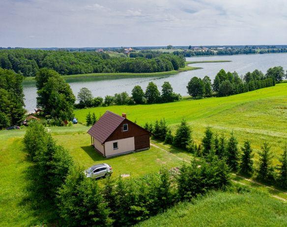Domek nad jeziorem Berżniak