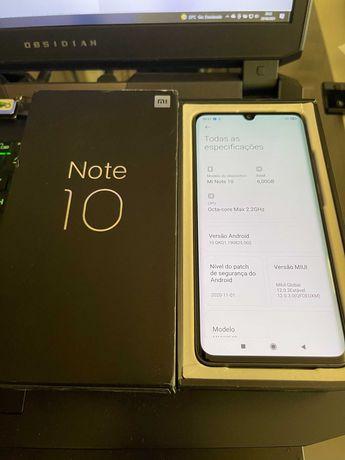 NOVO Xiaomi Mi Note 10 (CC9 Pro)  108 Mpx 6GB RAM  128GB Memória