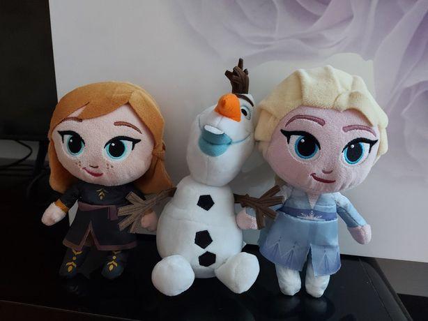 Ельза и Анна, Холодное сердце, мягкие куклы, цена за набор