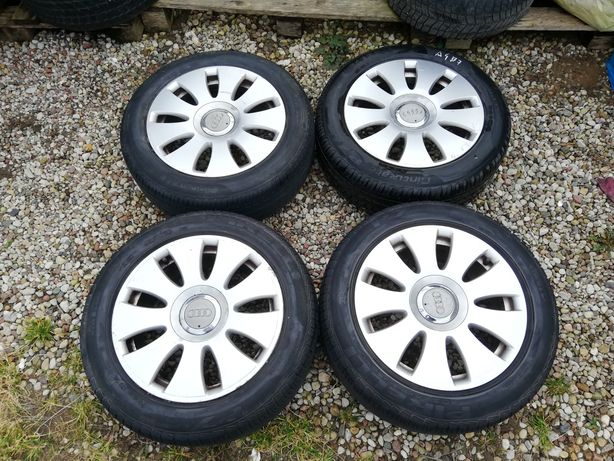 Koła felgi 5x112 16' opony Pirelli 205/55/16 Audi A3 A4 A6 VW